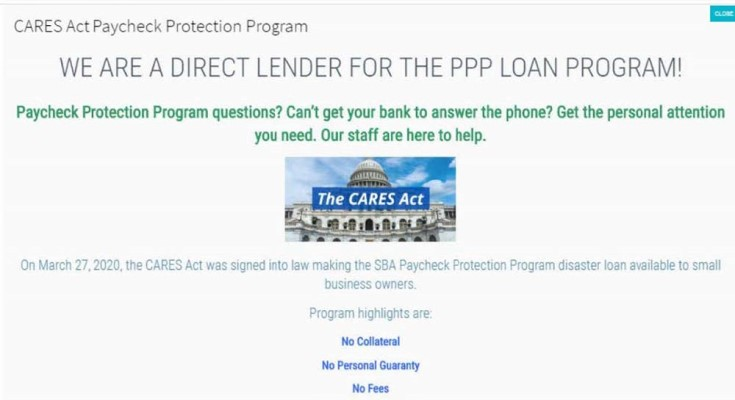 FTC Takes Action to Stop Company Posing as SBA Lender and Preying on Small Businesses