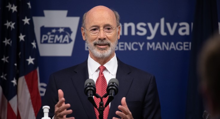 Gov. Wolf: PA is One of Three States Recognized by CDC for COVID-19 Reduction Success