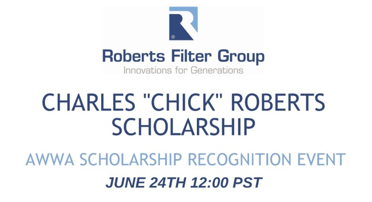 "Charles ""Chick"" Roberts Scholarship Presented for 10th Year With a Virtual Ceremony"