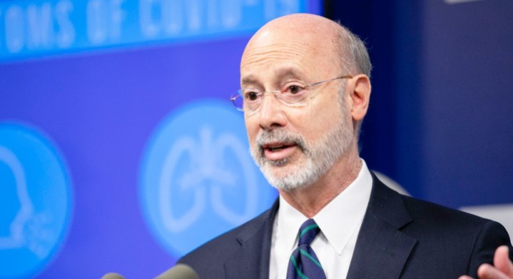 Governor Wolf speaks on Coronavirus