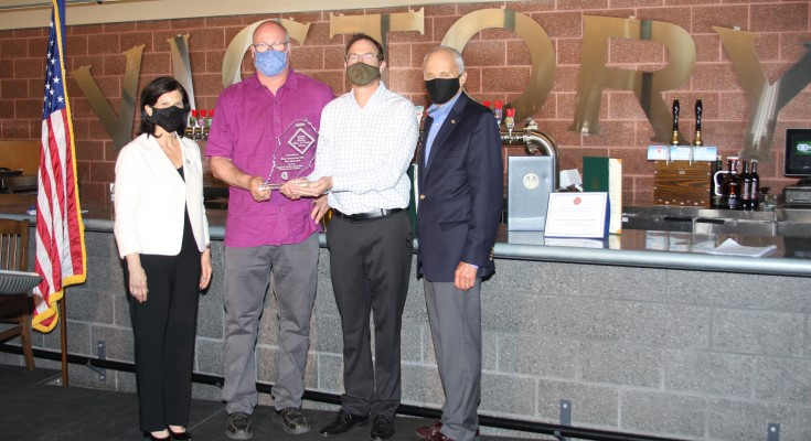 Victory Brewing Company Inducted into Hall of Fame by Chester County Economic Development Council