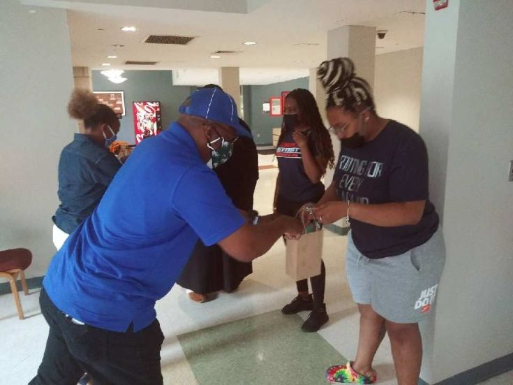 'Blue and white family' helps LU students stranded by pandemic