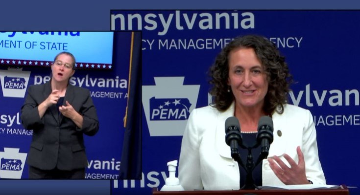 PA Secretary of State Reports Smooth Election Amid Historic Circumstances