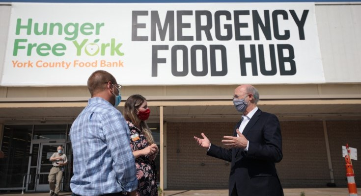 Gov Wolf Thanks Pennsylvania's Food Banks for Helping Those in Need