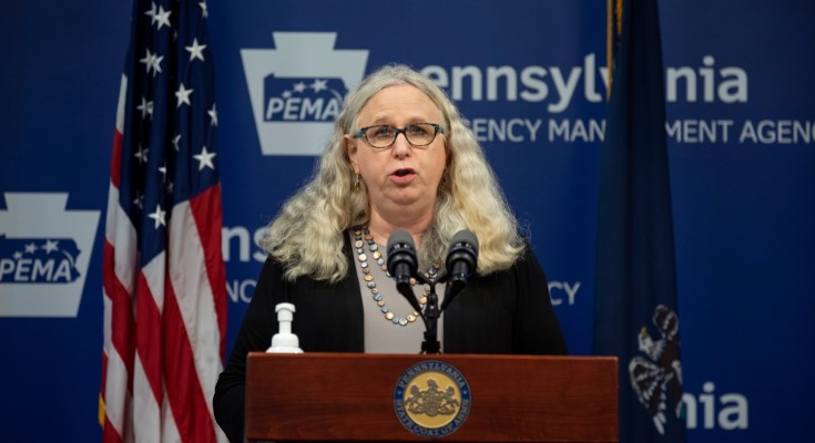 Pennsylvania Secretary of Health Dr. Rachel Levine Addresses Transphobic Comments towards LGBTQ Community