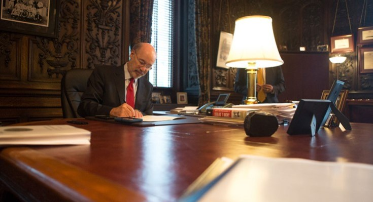 Gov. Wolf Signs First Responders Bill, Other Legislation