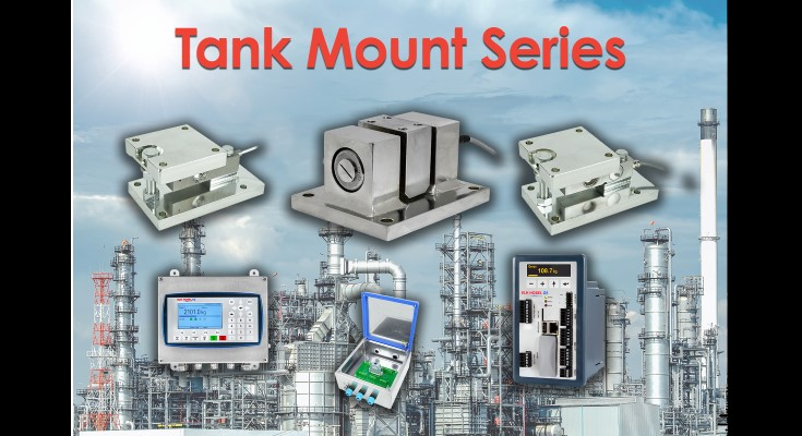 New Integrated Tank Mount Series with Off-the-Shelf Availability for Process Weighing Applications