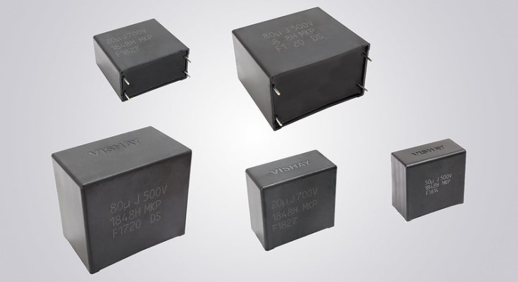Vishay's First Series of AEC-Q200 Qualified Metallized Polypropylene Devices Withstand THB Testing