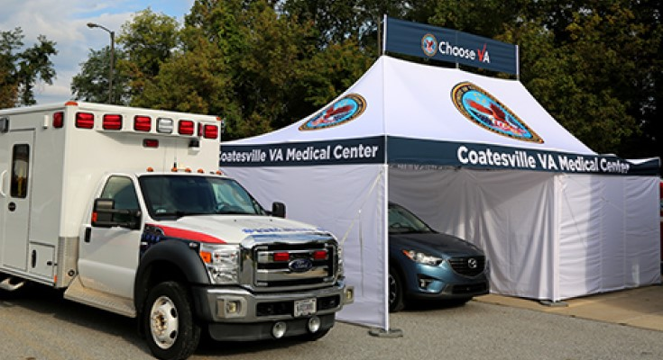 Drive Thru Flu Shots Available at Coatesville VA Medical Center
