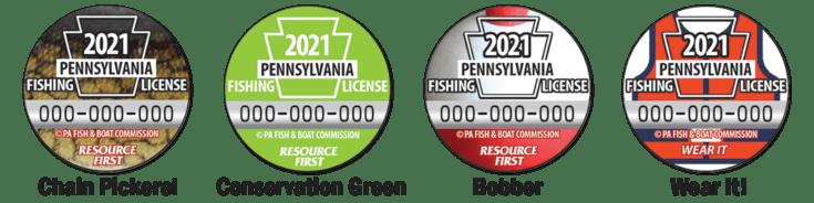 License Button Designs Combo