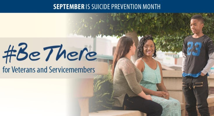 "During Suicide Prevention Month, VA Encourages Supporters to ""Be There"" for Veteran"