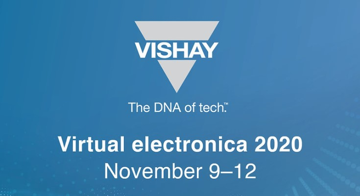 Vishay Intertechnology at Virtual Electronica 2020