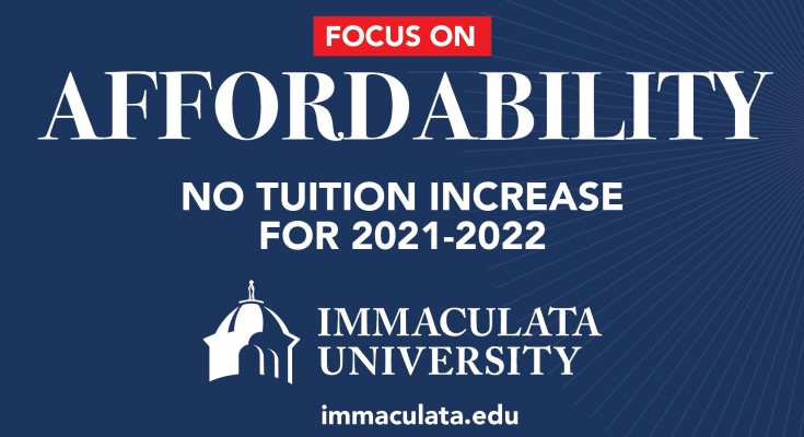 Tuition Remains the Same at Immaculata University for 2021-2022 Academic Year