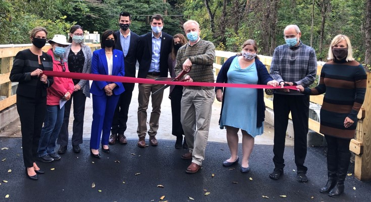 Kennett Township Celebrates the Reopening of Chandler Mill Bridge