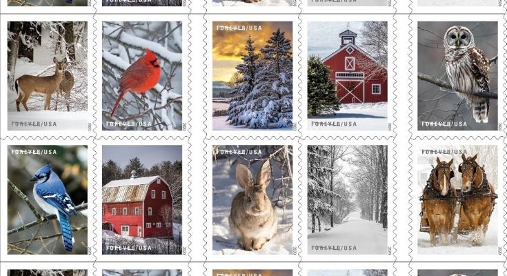 New Forever Stamps Send Warm Wishes With Winter Scenes