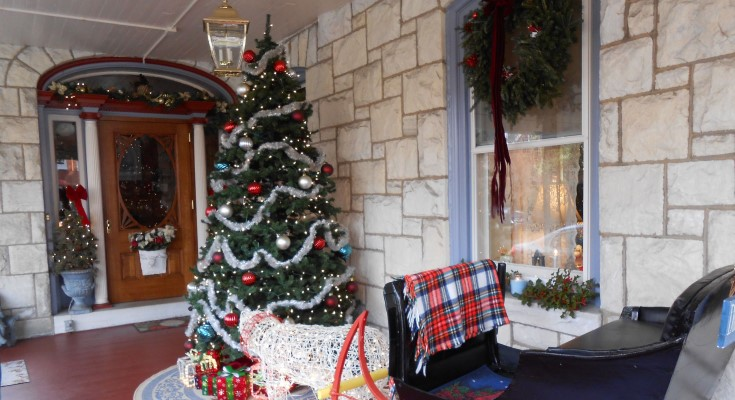 West Chester Public Library's Holiday Door Tour Begins December 5