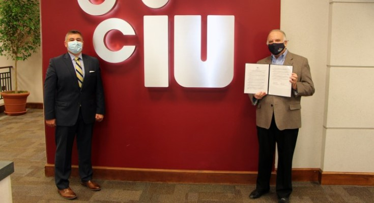 CCIU Board of Directors Honors Senator Andrew Dinniman for a Lifetime of Public Service