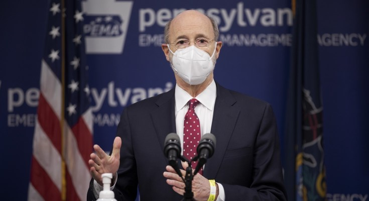 Pennsylvania Does Not Have Enough Doses of COVID-19 Vaccinate: Gov. Wolf