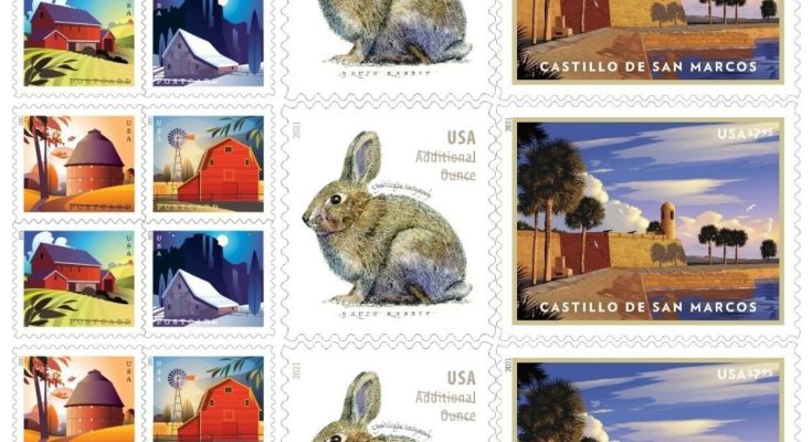 USPS Will Issue New 2021 Stamps for Price Change
