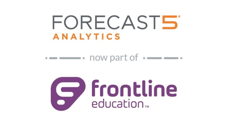Frontline Education has acquired Forecast5 Analytics