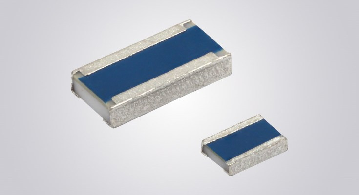 Wide Terminal Thin Film Chip Resistors in 0612 Case Size