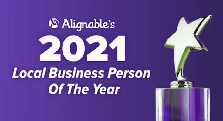 Alignable Local Business Person Of The Year Contest