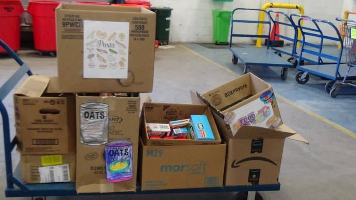 CIDDS Learning Center Food Drive