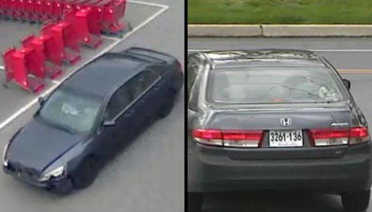 Target shoplifting vehicle
