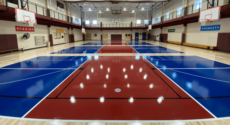 Indoor Pickleball Courts