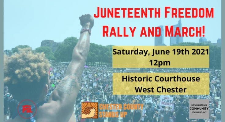 Juneteenth Freedom Rally