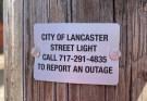 City of Lancaster street lights
