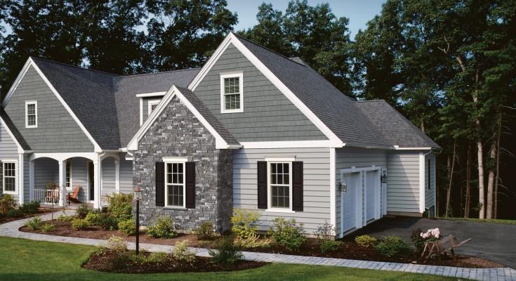 Stonefacade house