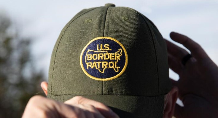 US Customs and Border Protection hat