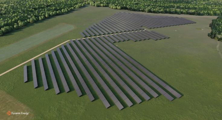 solar array aerial