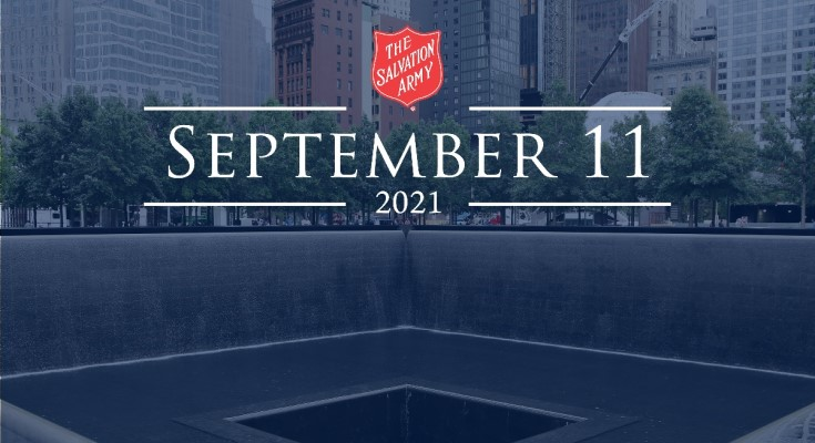 Salvation Army Remembers September 11