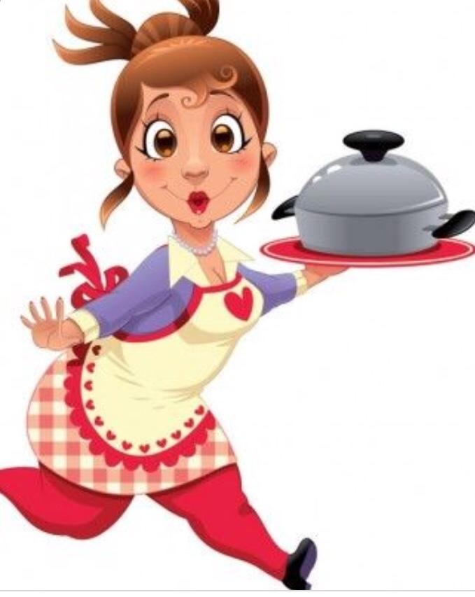 Cuoca in azione: ciak 🎬 / A cook in action!