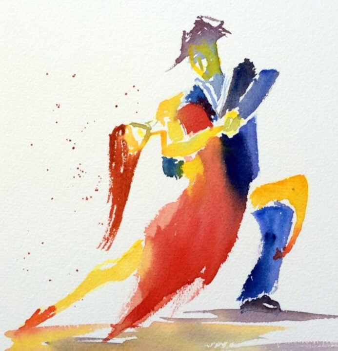 Un tango appassionato / A passionate tango