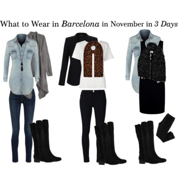 what to wear in barcelona