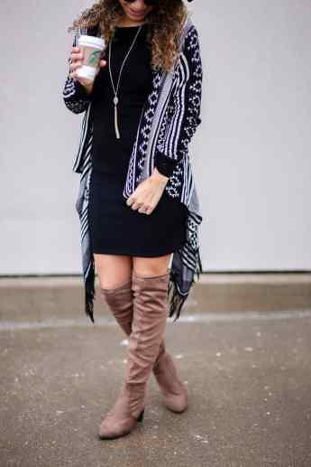 little black dress styling
