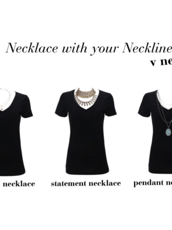 What Necklace Do You Wear With Your Neckline My Chic Obsession