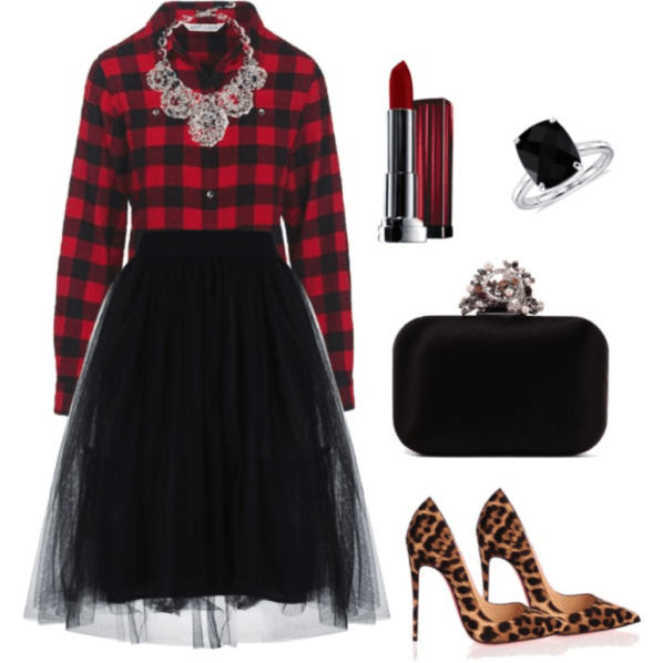 plaid outfit ideas