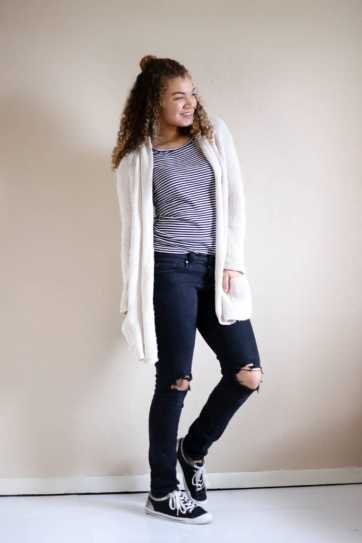 chunky cardigan outfit ideas