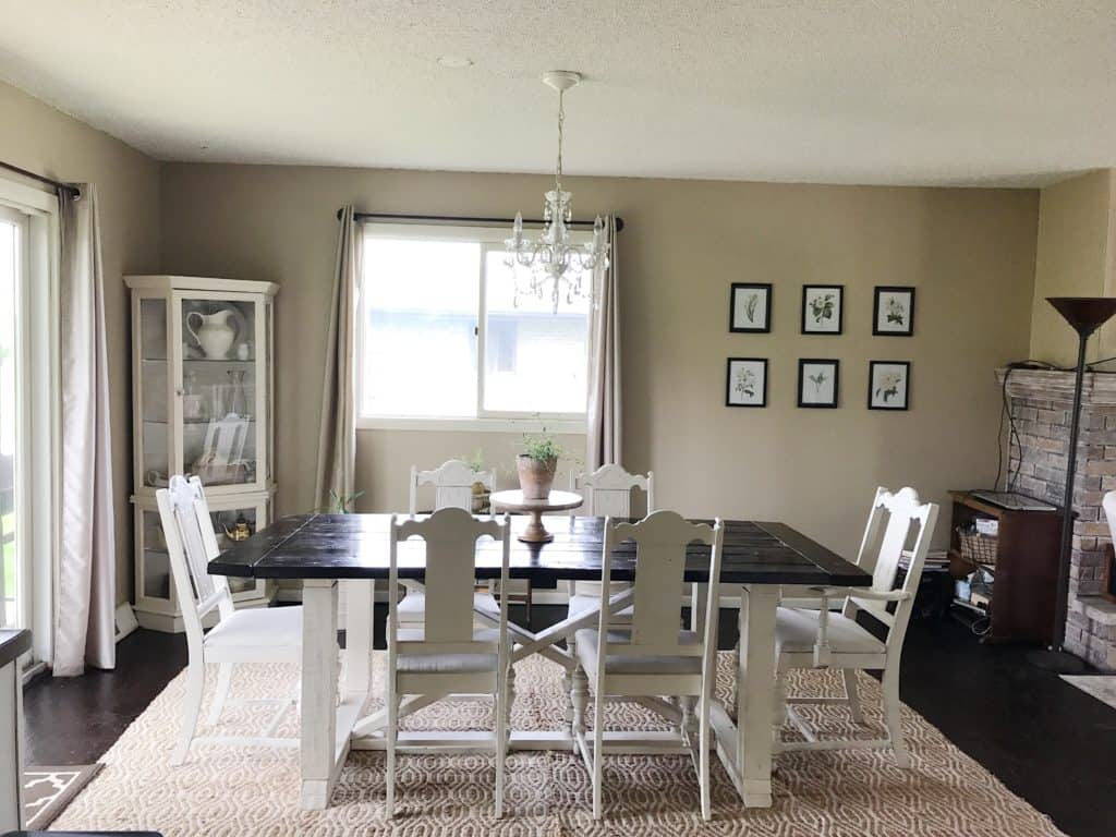 living room makeover on a budget