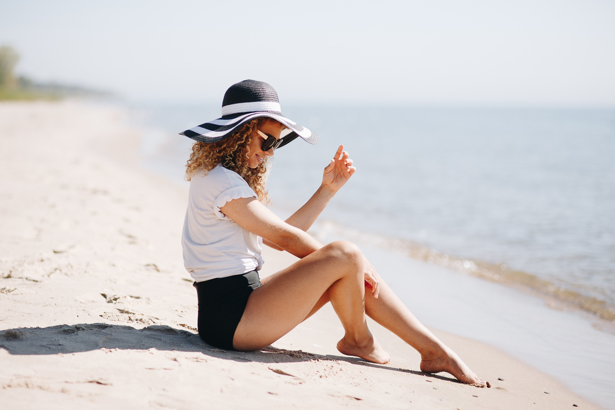 swimsuit and summer beach photography