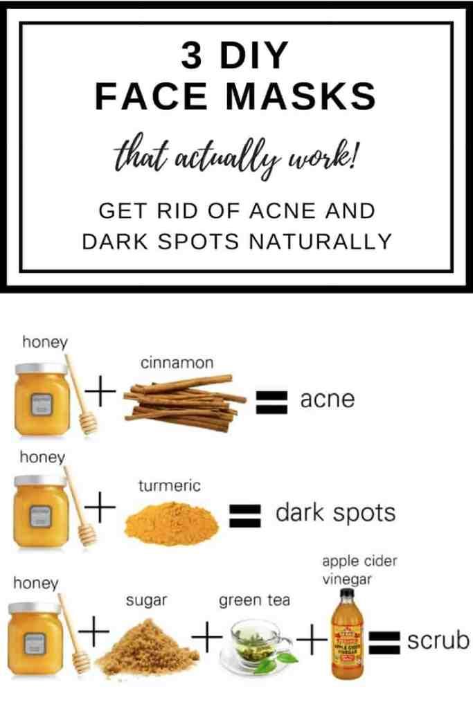 3 diy homemade natural face masks that actually work diy face diy face mask solutioingenieria Choice Image