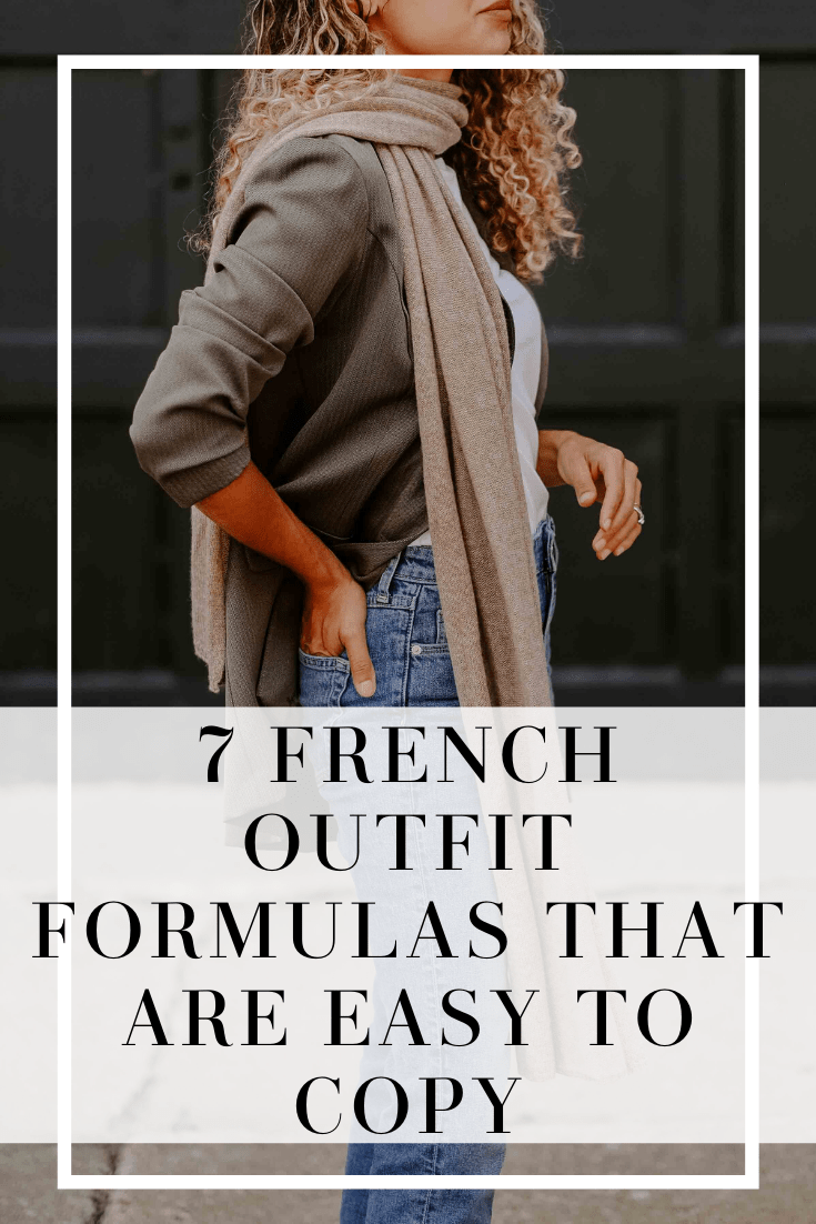 7 french outfit formulas