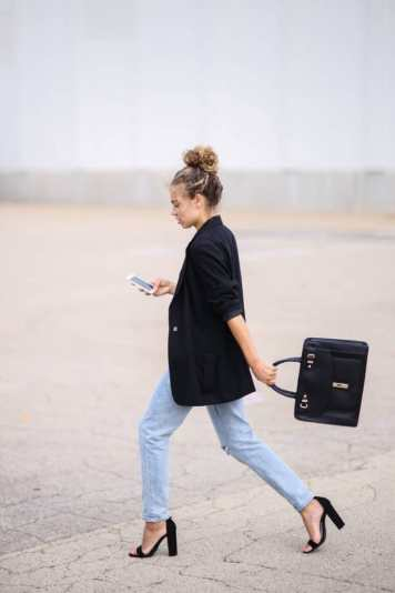 structured bag outfit