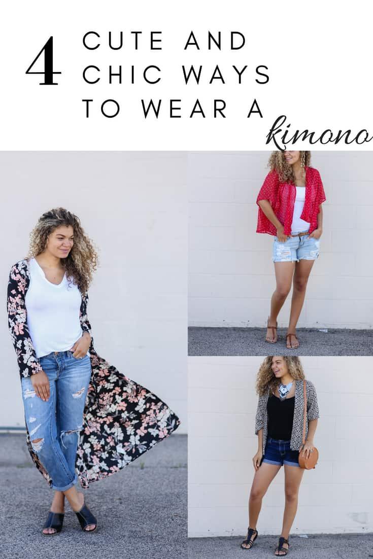 kimono summer outfits