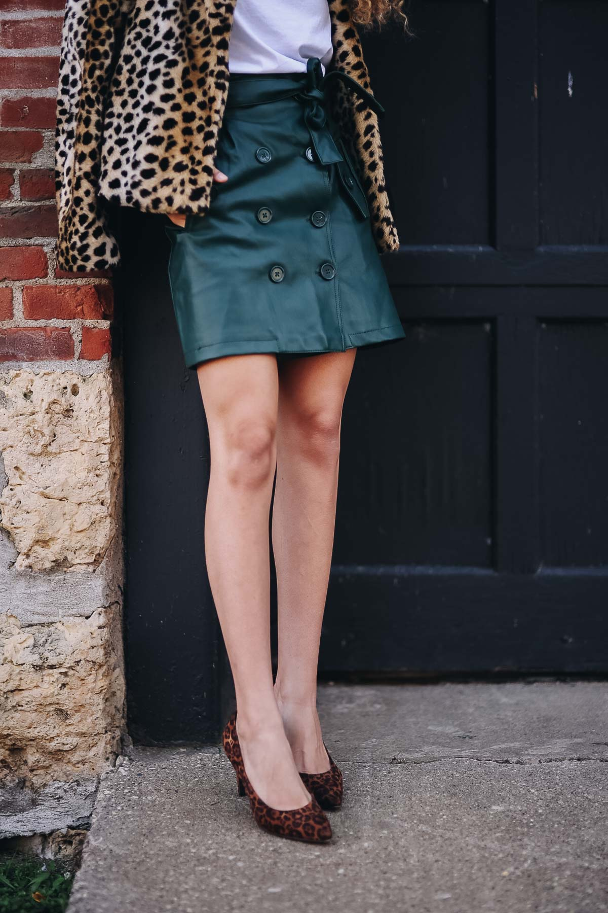 leopard print coat statement pieces