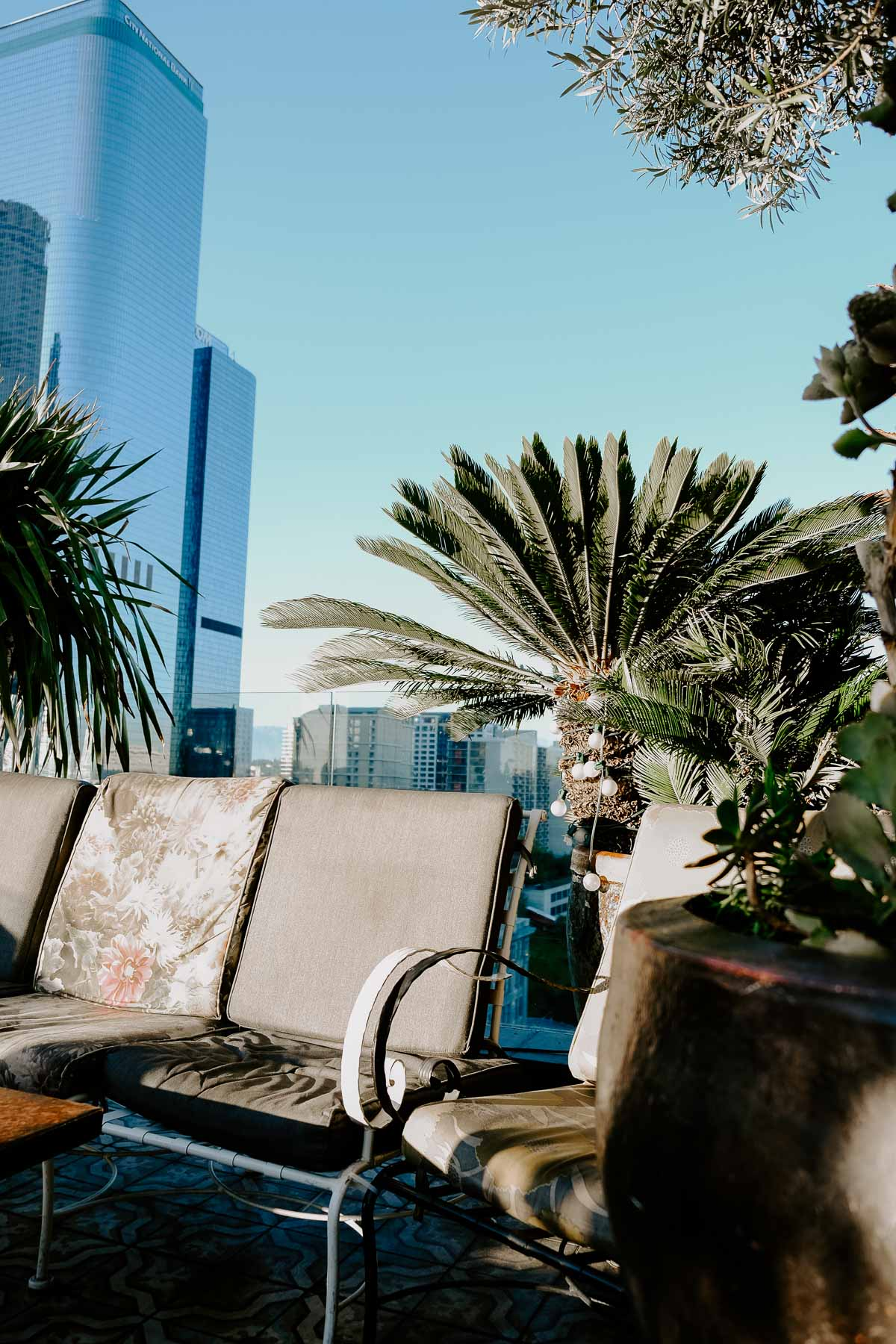 Planning a girl's trip to LA and need ideas on what to do? This chic girl's guide to LA has ideas on what to do, where to eat, where to shop, and where to stay, just to name a few! Perch rooftop bar is a hot spot.